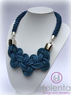 Rope necklace https://www.facebook.com/Folenta?ref=hl