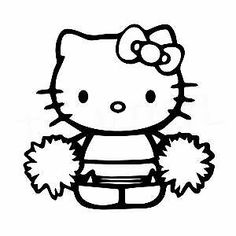 Hello Kitty Coloring Pages Christmas. Hello Kitty is one of many fictional characters of the Japanese company Sanrio in cat form. Hello Kitty means hello kitty in German. Coloring Pages To Print, Printable Coloring Pages, Coloring Pages For Kids, Coloring Sheets, Adult Coloring, Coloring Books, Hello Kitty Games, Les Enfants Sages, Hello Kitty Colouring Pages