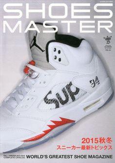Jordan 5 x Supreme on the Cover of Shoes Master Magazine - EU Kicks   Sneaker Magazine b61d47b714c