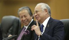 Malaysia's Prime Minister Najib Razak speaks at the Great Hall of the People in Beijing. Photo: AFP