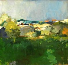 Elmer Nelson Bischoff – was a visual artist in the San Francisco Bay Area. Abstract Painters, Abstract Landscape, Landscape Paintings, Impressionist Paintings, Contemporary Landscape, Abstract Art, Jasper Johns, Richard Diebenkorn, Klimt