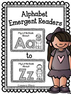 Review the alphabet and introduce sight words all at the same time with these Alphabet Emergent Readers!
