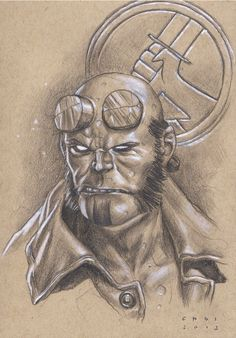 Hellboy by Mike Choi