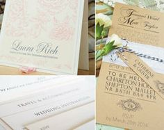 Wedding invites and stationery | Curlicue Creative