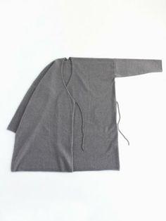 cashmere square robe