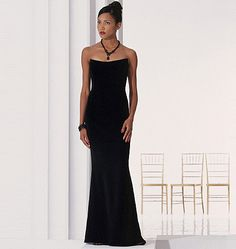 Sew for Prom 2014: Classic elegance from Badgley Mischka. Vogue Patterns V2237, Misses' Evening