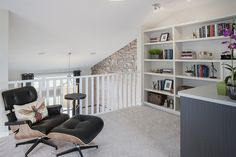 Bonus room or Urban Loft?  This space is so funky.  Excel Homes- Kendal(Urban) show home, Copperfield, Calgary