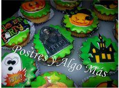 Ponquesitos para Halloween - Cupcake for Halloween