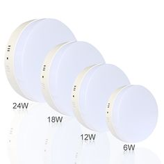 6W/12W/18W/24W Square/Round Led Panel Light Surface Mounted leds Downlight ceiling down 110 240V lampada led lamp + LED Driver-in Downlights from Lights & Lighting on Aliexpress.com | Alibaba Group