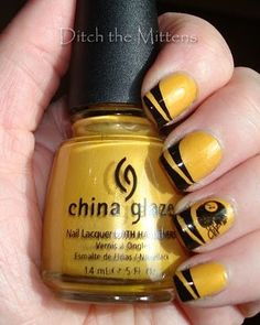 so doing these nails for football season!