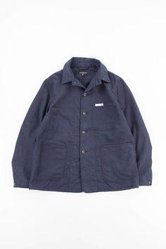 Engineered Garments X TBB Dark Navy Moleskin Portview Jacket