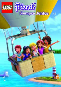 DVD Lego Friends Siempre Juntas - Infantil
