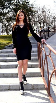 Rochie ZR Black, Dresses, Fashion, Gowns, Moda, Black People, Fashion Styles, All Black, Dress