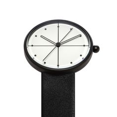 Dome is the latest watch from AÃRK. The Australian brand – known for its playful use of shapes – looked to circular forms for the watch design, from the domed glass lens to the dot indices. #watches #design