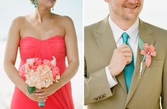 I LOVE this color combo for bridesmaids and flowers for a summer wedding!!