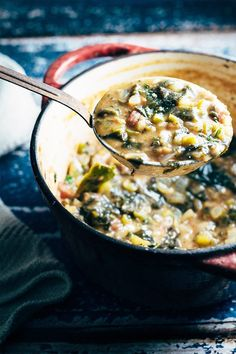 A big spoon of yum. Vegetable Étouffée - vegan. Recipe at www.mygoodnesskitchen.com