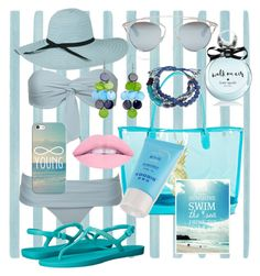 """""""Aqua Summer"""" by aedwish on Polyvore featuring Christian Lacroix, Target, Christian Dior, Havaianas, Kate Spade, Casetify and Kenneth Cole Christian Lacroix, Summer Wear, Casetify, Aqua, Target, Kate Spade, Bikinis, Polyvore, Beauty"""
