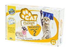Animals and Nature 31744: Wild Science Kitty College Pet Science Behaviorial Games Andtoys Designed For Cats -> BUY IT NOW ONLY: $34.95 on eBay!