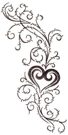 heart tattoos   Heart Tattoo 4 by ~Metacharis on deviantART