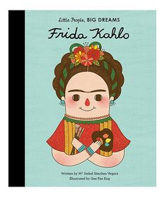 This story follows Frida Kahlo, whose desire to study medicine was destroyed by a childhood accident. Frida began painting from her bedside and produced over 140 works, culminating in a solo exhibition in America. This inspiring and informative little biography comes with extra facts about Frida's life at the back. Shipping note: This item ships free!