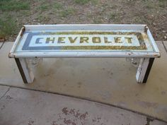 Hey, I found this really awesome Etsy listing at https://www.etsy.com/listing/226261561/1957-chevy-pick-up-truck-tailgate-coffee
