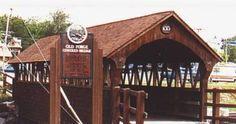New York State Covered Bridges - Old Forge Bridge