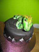 Meine Drachen Torte für meinen Mann zum Geburtstag http://annis-fairytale-cakes.blogspot.de/