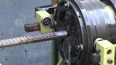 AGS 40A Rebar Thread Rolling Machine