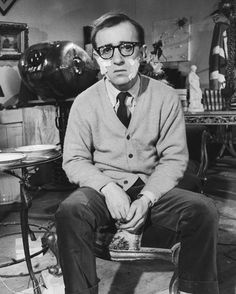 One Icon, One Detail: Woody Allen's Cardigan