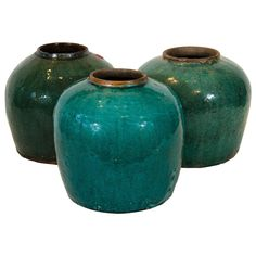Antique Chinese Ginger Jars
