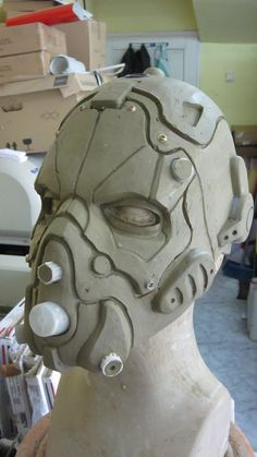 Assault Helmet WIP by Psychopat6666 on DeviantArt