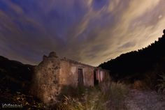 A very old little house in the road from Sella to Relleu (Spain). Cloudy Nights, Half Dome, Monument Valley, Spain, Mountains, Nature, House, Travel, Naturaleza