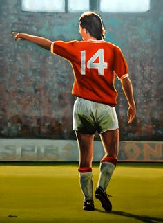 Johan Cruyff of Holland wallpaper.