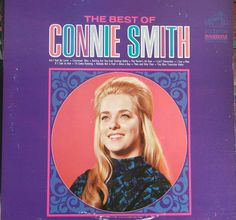Connie Smith, The Best of Connie Smith, Vintage Record Album, Vinyl LP, Country Western Music, Nashville Sound, Underrated Vocalist by VintageCoolRecords on Etsy