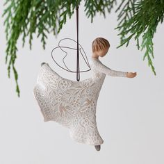Dance of Life Ornament by Susan Lordi Willow Tree 27245