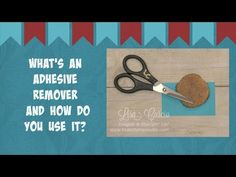 Quick Crafting Tip - What's An Adhesive Remover and How Do You Use It? Stampin' Up!, card, paper craft , scrapbook, craft, rubber, stamps, hobby, PDF project tutorials, Studio Stamps in the Mail, www.lisasstampstudio.com