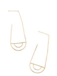 Scalloped Arch Earrings