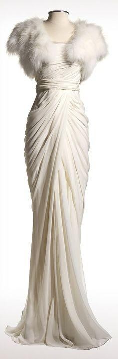 J Mendel. Bridal lookbook - Apollonie. Very 1930s