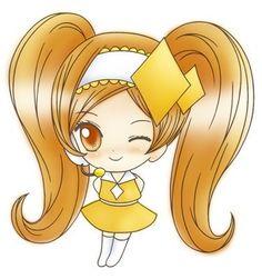 Dia est la quatrième shugo chara d'Amu . Elle apparait bien après les 3 autres . Il y a deux