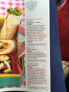 Wrap met eiersalade en knakworst, Bento, broodtrommel lunch