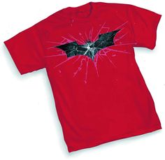 Possibly the best Batman movie yet? Dark Knight Rises Symbol Red T-Shirt