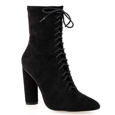 Jinnie front lace up boot in faux suede. Available in sizes and a range of  colours, this mid ankle boot is a one for the comin  festival season. bddfcc2f7b