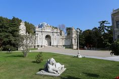 Dolmabahce Palace - Lion Garden