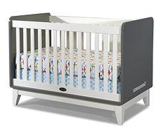 Zutano Tivoli Convertible Crib, Cloud/White