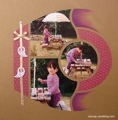 Azza - Essentiel Hobbies And Crafts, Arts And Crafts, Paper Crafts, Scrapbook Sketches, Scrapbooking Layouts, Baby Scrapbook, Scrapbook Pages, Scrapbooks, Mini Albums