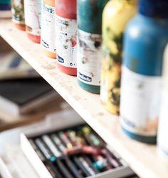 deGranero cursos de dibujo, pintura y fotografía en Madrid. Clases. Academia / Taller de arte. 5 formas de pintar con acrílico que debes conocer.