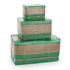 Storage box Papyrus Patterned _ Madwa