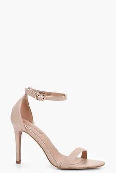 Boohoo Womens Charlotte 2 Part Heels #ad #shoes #heels #sandals #womensfashion #shopping #fashion