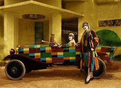 Roaring Twenties, The Twenties, Art Deco Wall Art, Sonia Delaunay, Black Artists, The Good Old Days, Diesel, Abstract Art, Colours