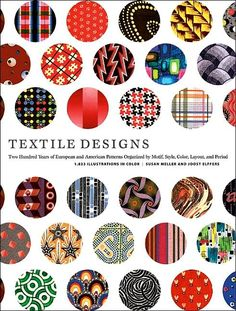 Two Hundred Years of European and American Patterns Organized by Motif, Style, Color, Layout, and Period